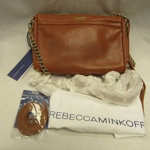 Rebecca Minkoff Mini M.A.C Crossbody - Almond